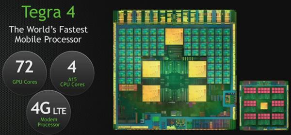 世界首款四核Cortex-A15处理器,Tegra 4详解